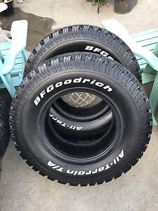 BF Goodrich T/A All Terrain KO's