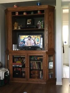 Corner Entertainment Unit - $400 excellent condition