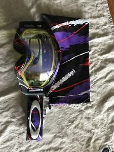 Oakley Splice goggles. Hi-Intense yellow lens