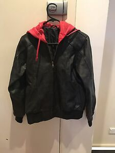 Women's leather motorcycle jacket - size 12 Peakhurst Hurstville Area Preview