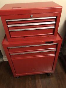 Waterloo Shop Series 26 in.  Red Tool Cabinet