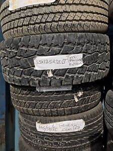 """20"""" inch truck tires for sell 100$ each"""
