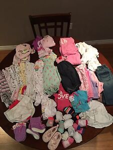 0-3 Months  Baby Girls Clothes ( full bag)