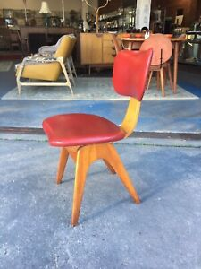 Fler Formline chair by Fred Lowen mid Century era sc55 armchair retro