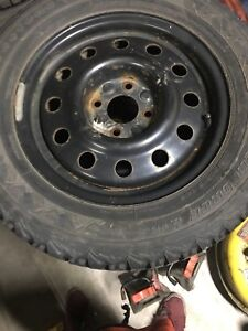 215/60/15 Firestone winterforce winter tires