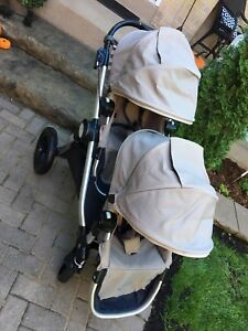 Beautiful double tan city select stroller