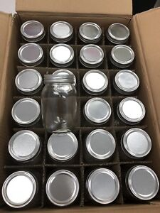 Box of 72 Mason Jars
