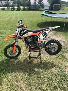 2017 and 2018 ktm 65 sx