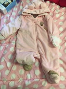 3 month snowsuit