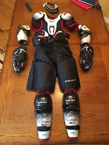 Youth hockey equipment