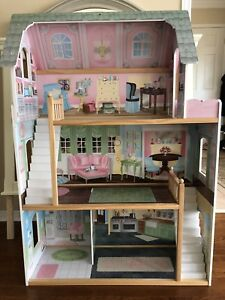 Doll House + furniture