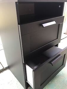 Bedside Table - Black Coorparoo Brisbane South East Preview