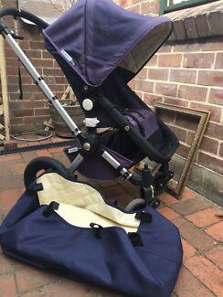 Bugaboo pram stroller with bassinet