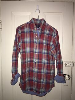 Ralph Lauren Double-Sided Plaid Shirt (small)