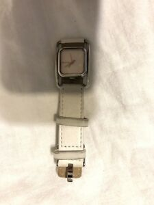 Nixon Women's watch - Silver tone and white leather