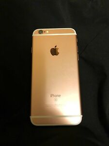 64 GB iPhone 6S - Rose Gold - Unlocked