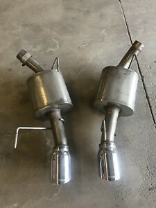 Corsa axle back exhaust Mustang