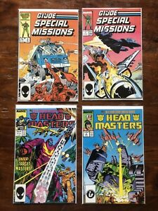 Gi joe Transformers Marvel comic book lot