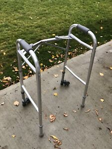 Walker, recliner, wheel chair and support pole