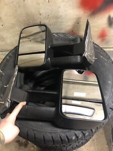 99-06 Silverado Sierra Tow Mirrors Manual