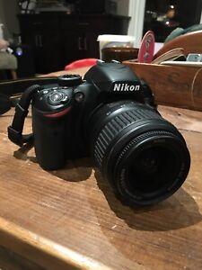 Nikon d3200 kit with 18-55mm lense