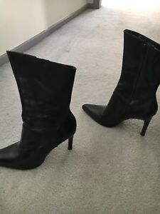 Boots and Leather bags