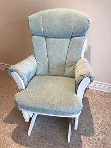 Chaise berçante de marque Dutailier