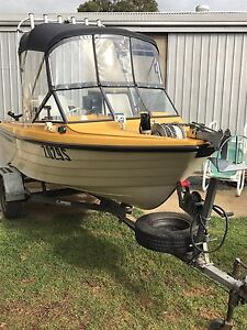 NESSCRAFT  16ft RUNABOUT FISHING BOAT Allenby Gardens Charles Sturt Area Preview