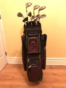 Wilson Ladies Golf Clubs and Bag