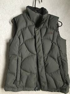 The North Face Goose Down Puffer Olive Green