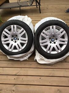 Winter tires and BMW mags