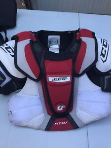 Youth hockey gear- shoulder pads