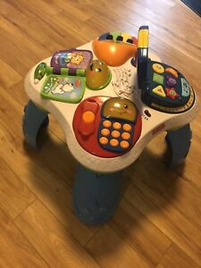 Baby Activity Table