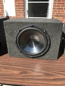 SD Radial Woofer with Box-12 inch