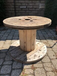 WOOD CABLE SPOOL - MAKE YOUR OWN TABLE?