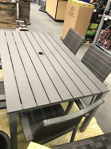 Brand new outdoor patio table for sale.