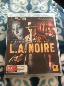 L.A Noire PS3 Game Seven Hills Blacktown Area Preview