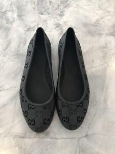 Gucci ballet flats size 38 motif GG