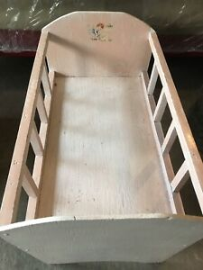 For Sale: Vintage Doll Crib
