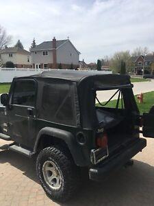 Jeep TJ Wrangler Soft Top