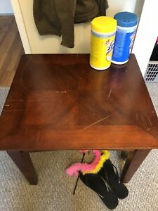 Coffee, 2 end tables