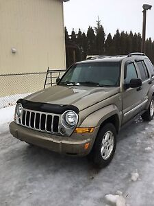 Jeep Liberty limited diesel