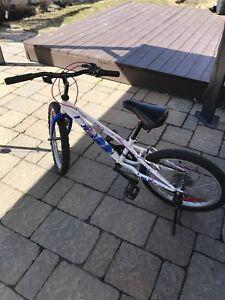 Vélo enfant 16 pouces fille