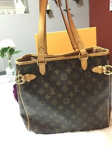 Authentic Louis Vuitton Batignolles Vertical
