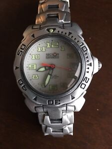 Sector all aluminum watch and bracelet
