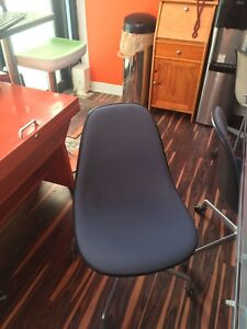 Authentic Upholstered Eames Herman Miller Chair