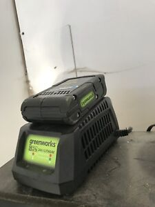 Greenworks trimmer and blower