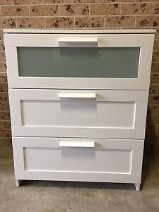 IKEA Chest of 3 Drawers(can deliver for a small fee) Minto Campbelltown Area Preview