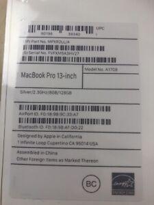 Brand new MAC BOOK pro