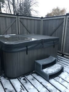 Hot tub 1-1/2 years old.